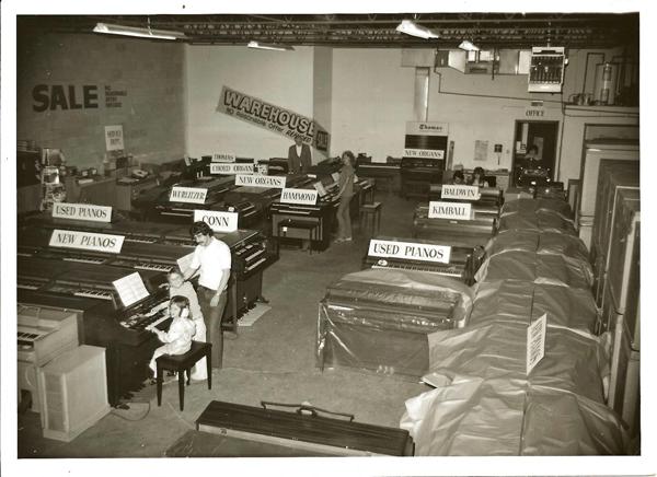 keyboard warehouse