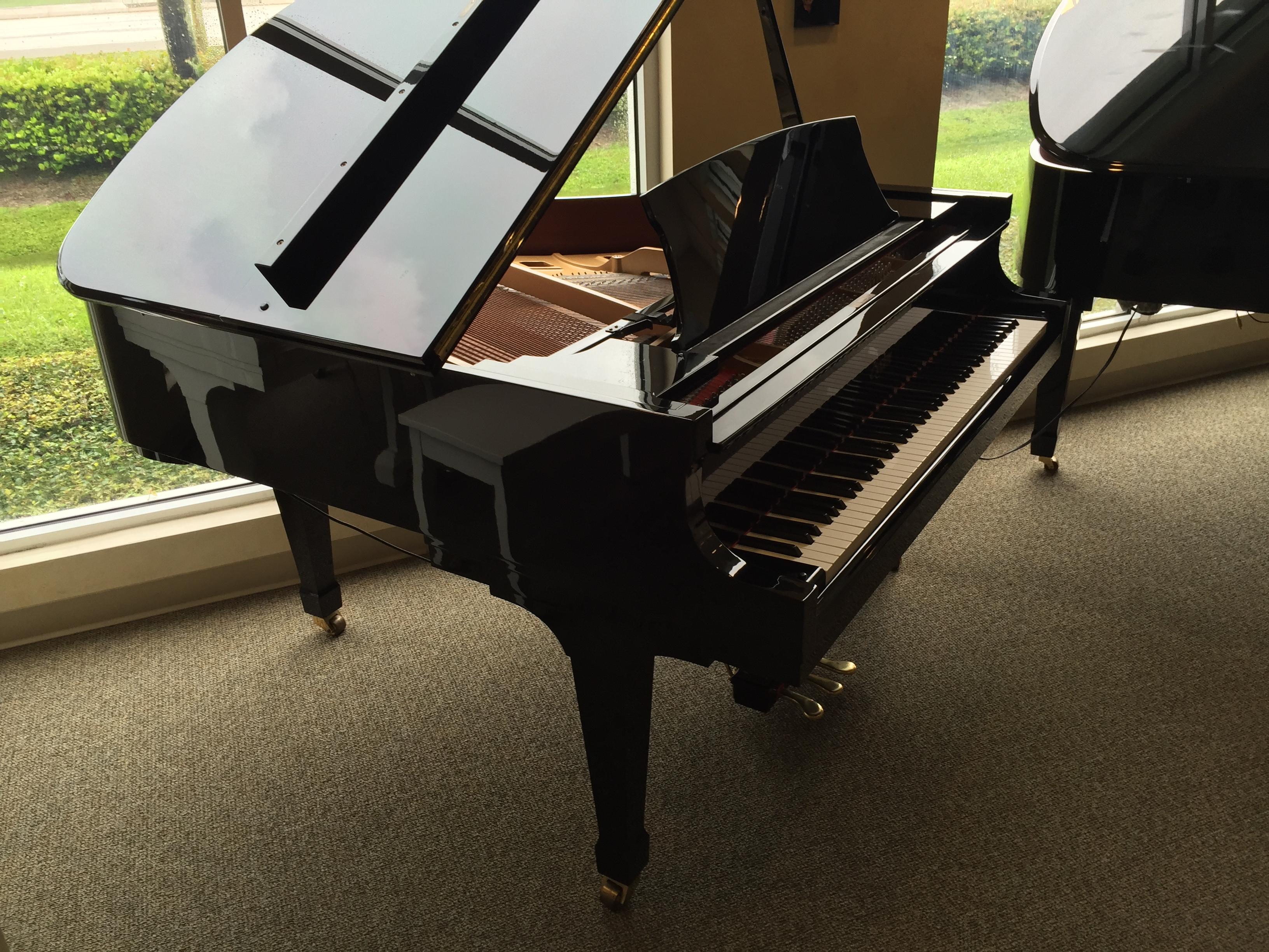 Baby Grand Piano Player Used Steinway Boston Series