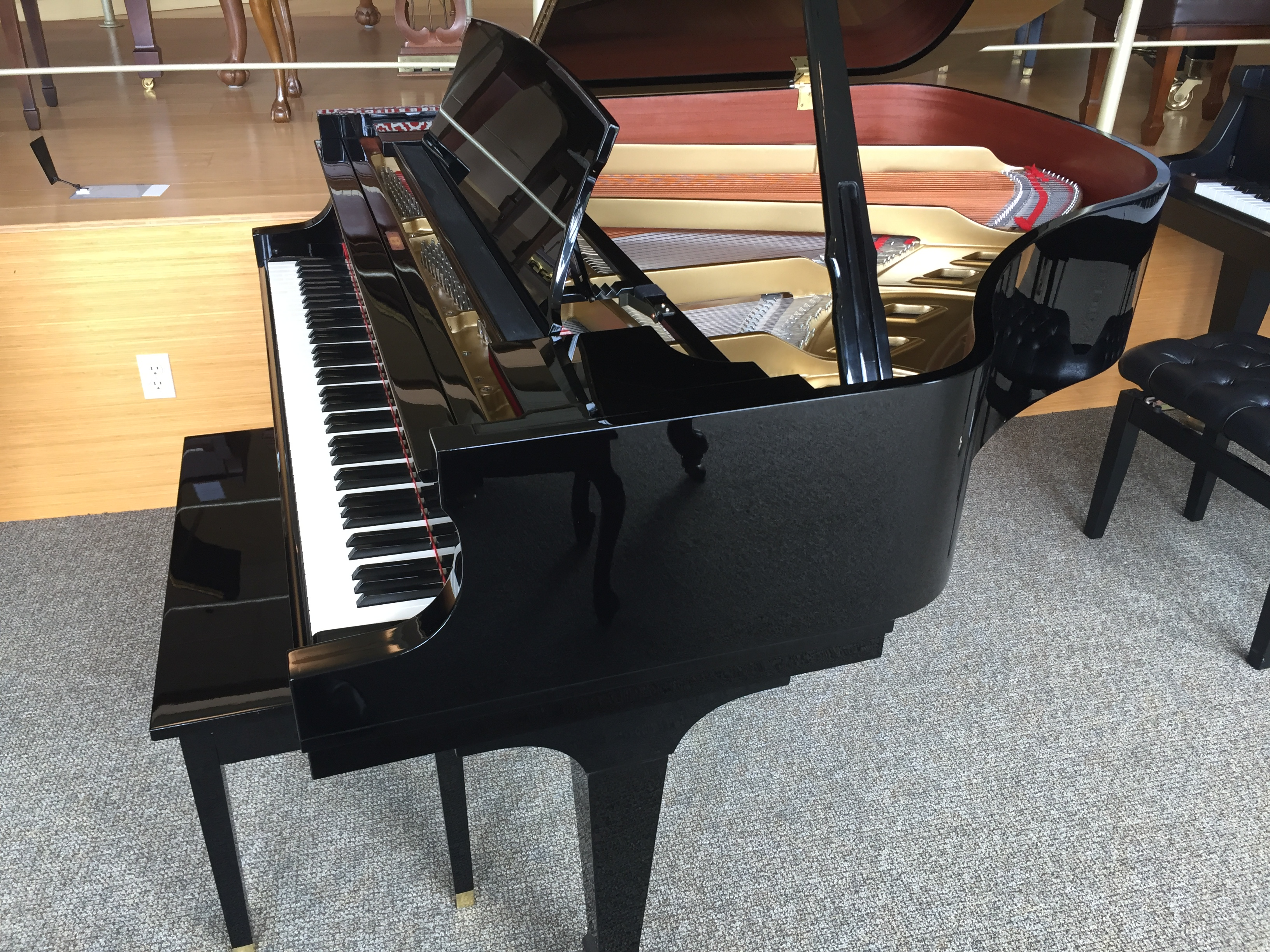 Used Boston Baby Grand with Player Steinway Piano Gallery of Naples