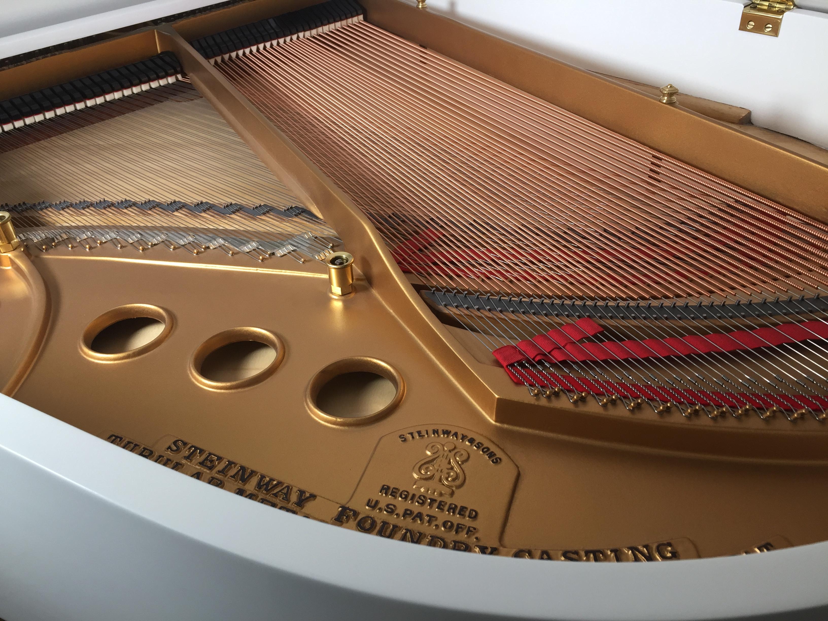 White Steinway Baby Grand Steinway Piano Gallery Of Naples