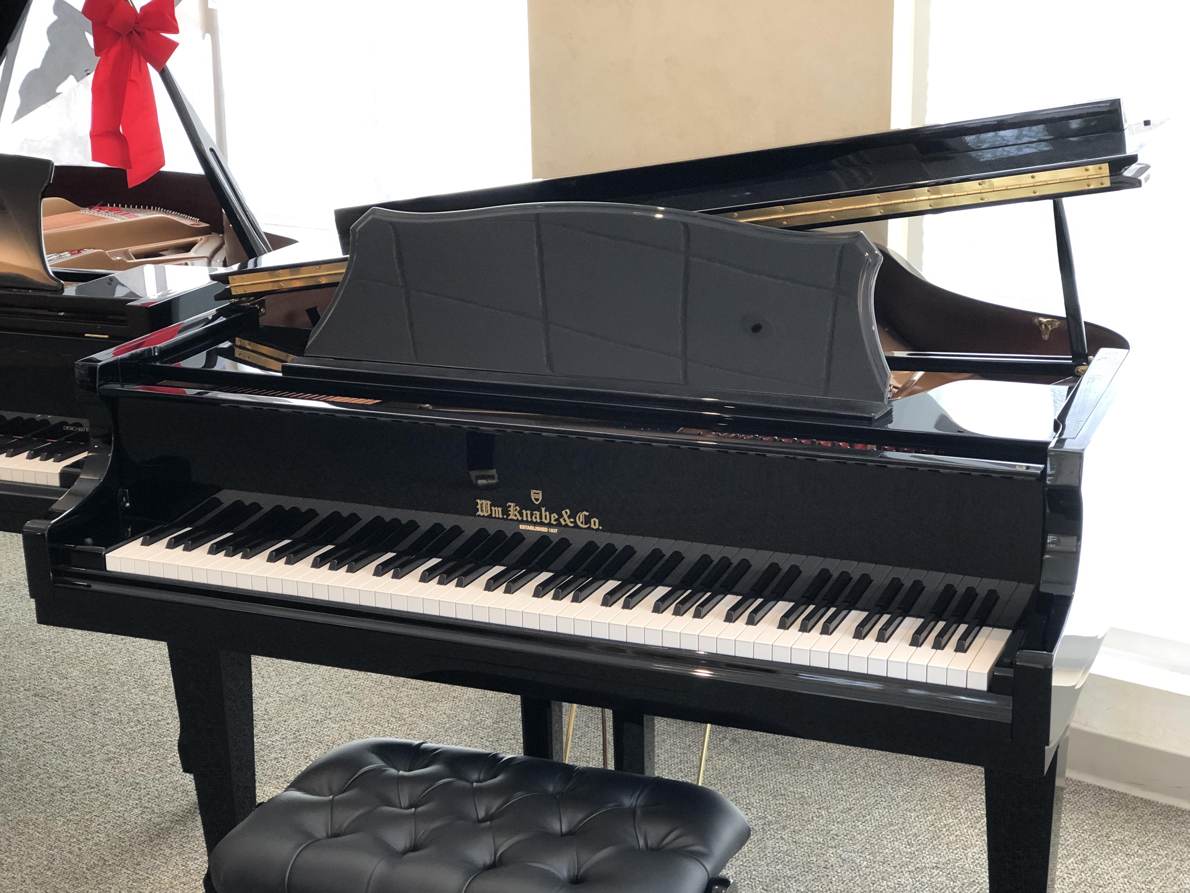 846d4caecc6b WM Knabe Baby Grand Player Piano with PianoDisc. The smallest of the baby  grand pianos