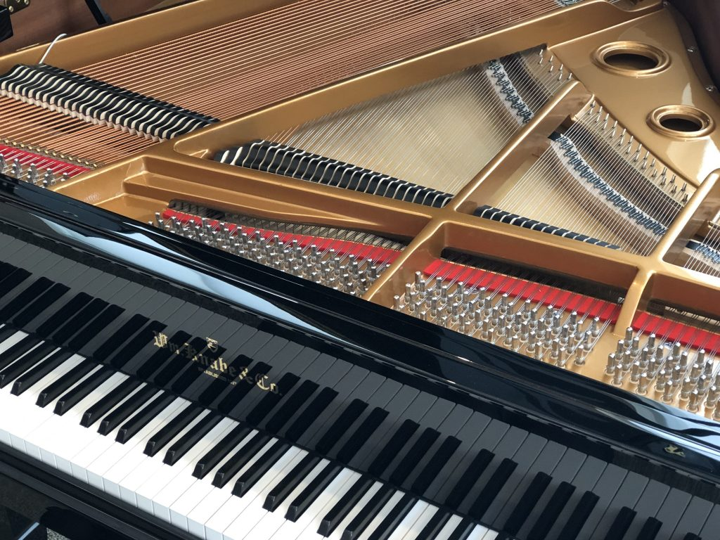 Wm Knabe Baby Grand Player Piano With Pianodisc Steinway